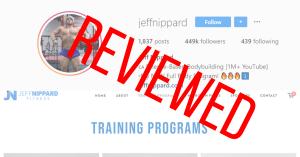 Jeff Nippard instagram